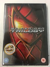 Spider-Man Trilogy (3xDVD) New Sealed Free UK P&P