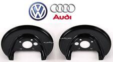 Genuine Rear Left Right Brake Disc Cover Protection Plate Audi A3 TT VW Golf mk4