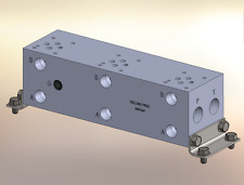 Hydraulic manifold A3P34P // AD03P034P // BMR-ASP03P4-03-1/Z // BA03GPT03NCUAAAA