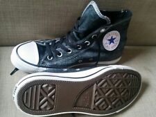 ♡♡Women's CONVERSE ST HI BLACK canvas running shoes US 8/ 6 UK / 39 Eu /24.5 CM