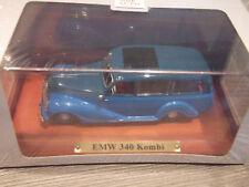 Atlas Edition DDR Modelle 1:43 EMW 340 Kombi  Blau in Vitrine mit OVP