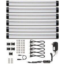 Under Cabinet Lighting 6 Panel Kit Kitchen Counter LED Light Remote
