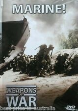 WEAPONS OF WAR - Marine! DVD + BOOK WORLD WAR TWO WWII Army Tanks BRAND NEW R0