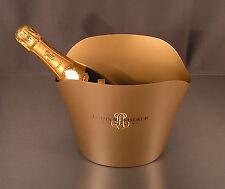 Orig. Louis Roederer Champagnerkühler Metall Champagner Kühler 25x18x22 cm NEU