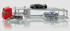 SUPER SIKU 3934 Mercedes Benz Actros Transporter with 2 Sports Cars 1:50 Diecast