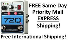 New Electro-Harmonix EHX 720 Stereo Recording Looper Guitar Effects Pedal