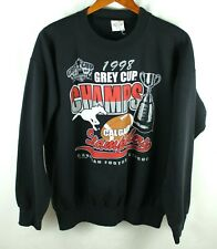 Vintage 1998 Calgary Stampeders Grey Cup Champions Sweatshirt Size XL