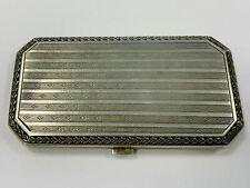 Schminkset, Silber 925, schönes design mit Kamm, 60,60g (43695)