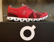 NEW IN THE BOX ON RUNNING CLOUD RED / OX SHOES FOR MEN