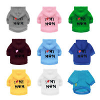 Soft Warm Pet Clothes For Small Medium Dogs Winter Dog Hoodie Puppy Sweatshirt