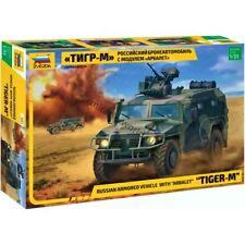"Zvezda 3683 AMN 233114 ""Tiger-M"" w/ «Arbalet-DM» /russian armored vehicle/ 1/35"