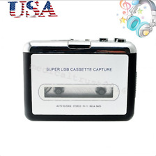USB Cassette Tape to MP3 iPod CD Converter Capture Audio Music Player Fluent M