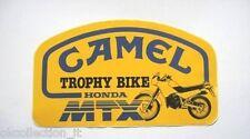 Vecchio Adesivo da Collezione /Old Sticker CAMEL TROPHY BIKE HONDA MTX (cm 16x9)