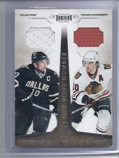 2010-11  PANINI DOMINION MORROW PATRICK SHARP GOT YOUR NUMBER DUAL JERSEY  /99 8