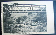 CONGO BELGE MATADI BRIDGE PC CANCEL LEOPOLDVILLE 1914