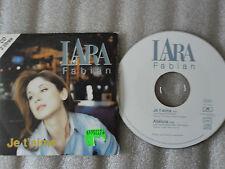 CD-LARA FABIAN-JE T'AIME-ALLELUIA-ALBUM PURE-RICK ALLISON(CD SINGLE)1997-2 TRACK