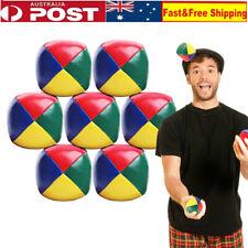 10X PU Juggling Balls Set Ball Bag For Magic Circus Beginner Kids Toy Gift Fun