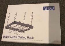 Hahn Metro Black Metal Ceiling Rack 90400 (BNIB)