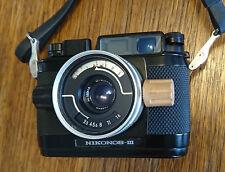 Vintage Nikonos III Underwater Camera