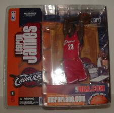 Lebron James 2003 McFarlane Series 5 Rookie Red Variant Cavaliers Ages 5+