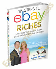 12 Steps To ebay Riches Book Make Money On ebay Work From Home Online Business