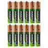 12x Duracell AA HR06 2450mAh Capacity Duralock NiMH AA Rechargeable Batteries