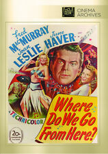 Where Do We Go From Here 1945 (DVD) Fred MacMurray, Joan Leslie - New!