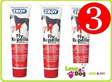 Troy Fly Repella Cream. Fly repellent for dogs and horses x 3 100gram tubes