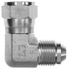 NPTF Male 45 9//16-18 X 1//2-14 Continental Hydraulic Adapter Fitting JIC 37 Male