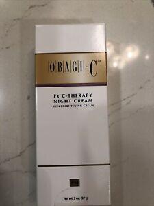 Obagi-C Therapy Night Cream 2 oz - New In Box!