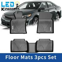Intro-Tech All Weather Auto Mats w//OEM fastening system Toyota Camry 1983-96