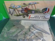1/72 WWI Vintage Airfix British Sopwith Camel Fighter MIB Header set