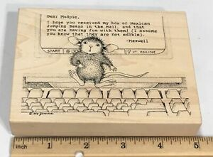 Stampa Rosa House Mouse 257 Mudpie. Com (Monica ) 1998