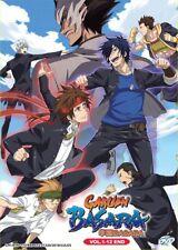 DVD Anime Gakuen Basara Samurai High School Full Series (1-12) English Subtitle