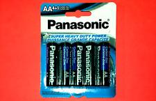 5x AA Type Panasonic Carbon Zinc Batteries Battery