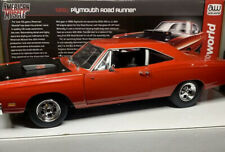 American Muscle W/GMP Wheels 1969 1/2 Plymouth Roadrunner 1/18 Scale CUSTOM