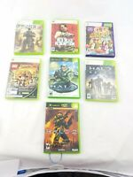 Xbox 360 Lot Lot 8 Games Tested Games
