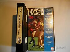 THAT WAS THE SEASON THAT WAS 1982 ~ AFL FOOTBALL ~ VHS VIDEO