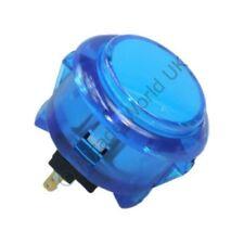 1 X Azul Genuino Sanwa Obsc - 30-C snap en botón de Arcade - 30mm agujero de montaje