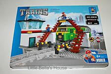 Ausini TRAINS Set #25810 Building Block Toy 517pcs city station (compatible)