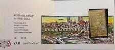 NORTH YEMEN JEMEN YAR 1970 1248 A Bauwerke Olympics 1972 Munich GOLD Folder