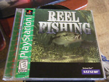 Reel Fishing - Greatest Hits (PlayStation, 1997) - Complete!!!!
