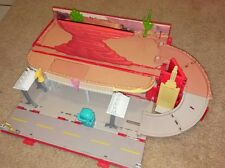 RARE Cars 2 Radiator Springs Playtown Case Disney Pixar playset