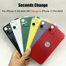 Lens Back Sticker Film for iPhone X XS MAX XR Camera Change to iPhone 11 Pro MAX