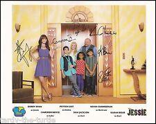 Jessie Cast 8 x 10 Autograph Reprint Peyton List Skai Jackson Kevin Chamberlin +