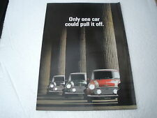 CLASSIC ROVER RSP COOPER SALES BROCHURE PUBLISHED ROVER GROUP 1990