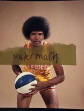 RARE 1973 ABA Original Topps Vault Color Negative Conquistadors Chuck Williams