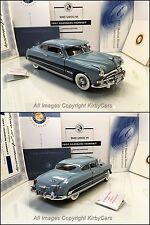 Franklin Mint 1951 HUDSON HORNET CLUB COUPE D4C LE- NMIB w/PAPERS! UNDISPLAYED!