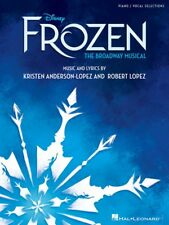 Disney's Frozen The Broadway Musical Piano Vocal Selections Book 000281007