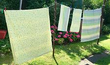 Gestreifte Bettwäschegarnituren mit Reißverschluss aus 100% Baumwolle